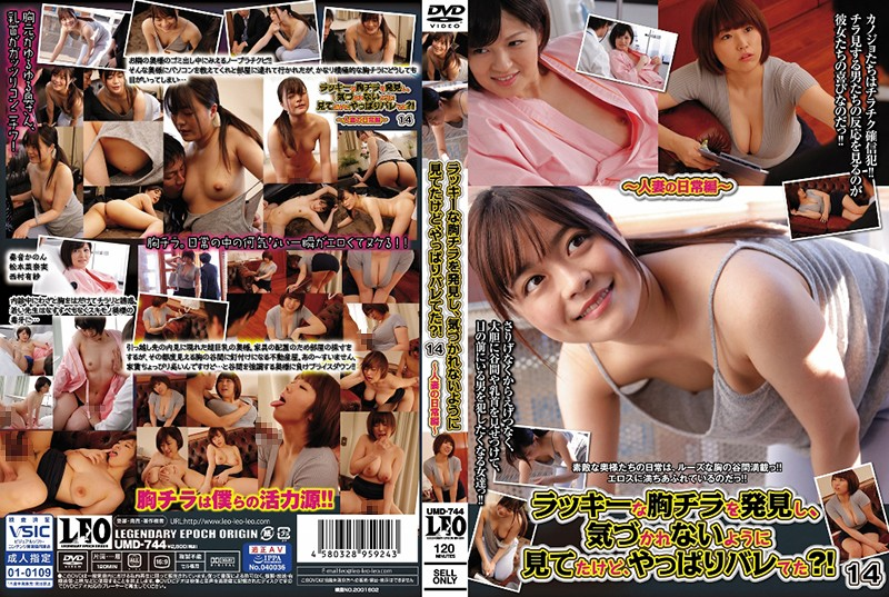 Cover [UMD-744] I Found A Lucky Breast Flickering And Looked At It So That It Wouldn't Go Unnoticed. ! 14-Married Woman's Daily Edition