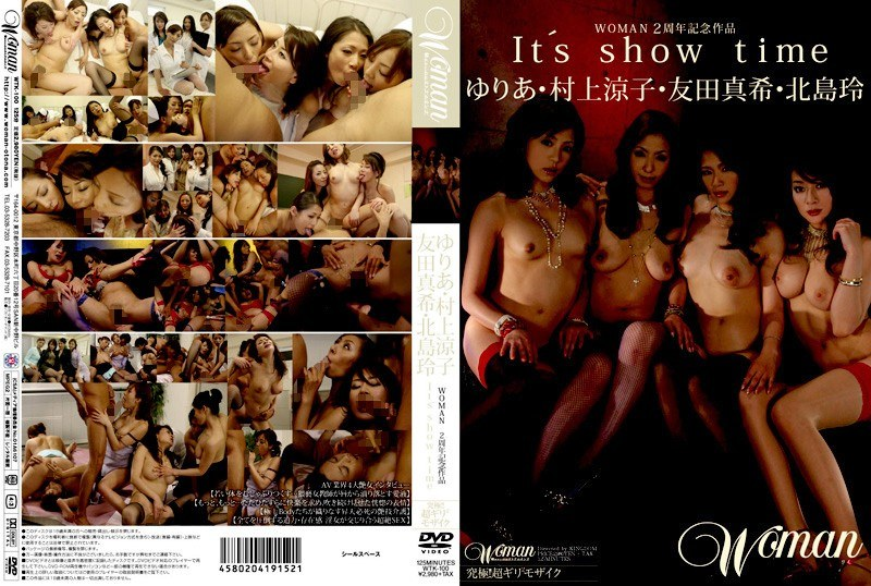 Cover [WTK-100] Rei Kitajima Tomoda Maki Murakami Ryoko Yuria It's Show Time Work 2 Woman Anniversary