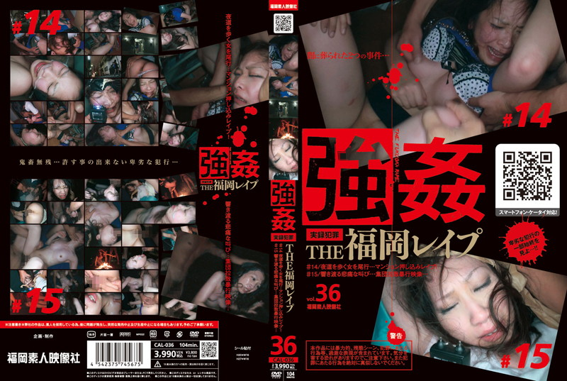Cover [CAL-036] Woman Humiliation walking in the street at night