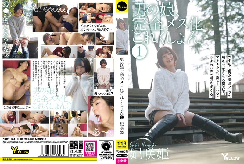 Cover [HERY-103] Man's Daughter, Complete Femaleization Collection 1 Princess Sakihime